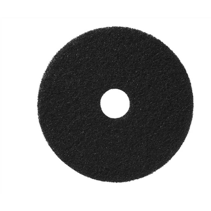 "Americo 23"" Black Stripping Floor Pads (Pack of 5)"