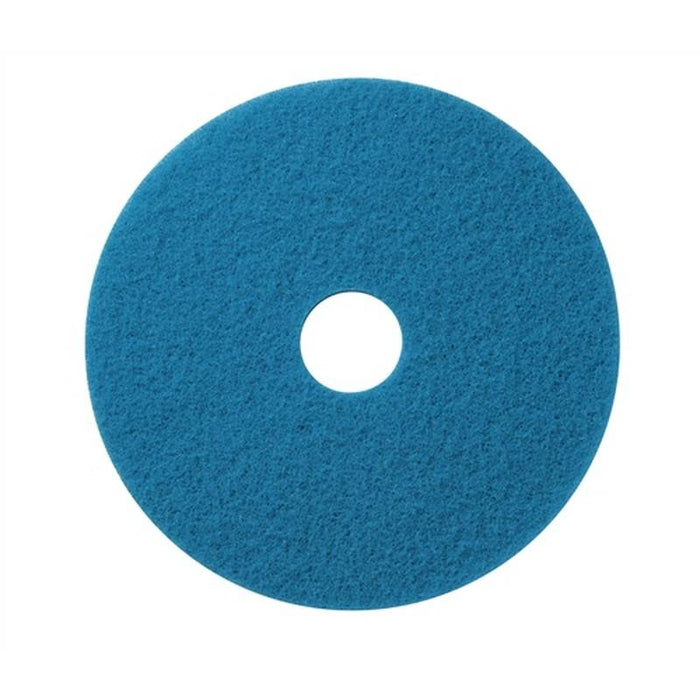 "Americo 18"" Blue Cleaner Floor Pads (Pack of 5)"
