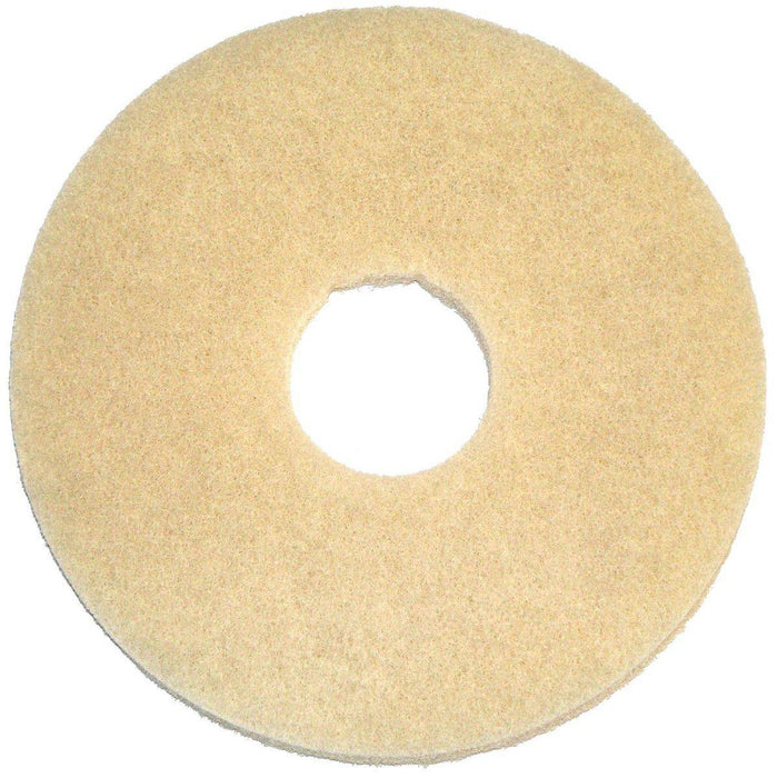 "Bissell 12"" Beige Stone Care, 5 Pads"