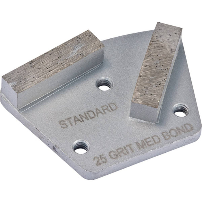 Diamond Productions Polar Standard 2 Segment (3-Hole System) - 25 Grit Hard Bond