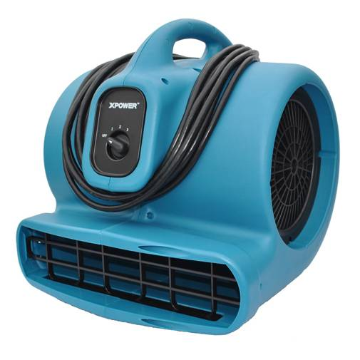 XPower X-600A 1/3 HP Air Mover with Daisy Chain