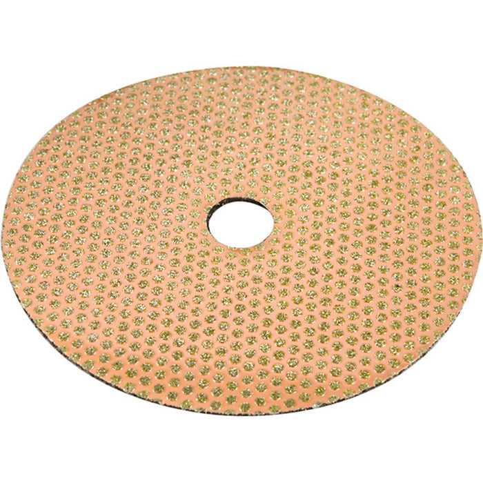 "Diamond Productions Excalibur Flexible 4"" Disc - 120 Grit"
