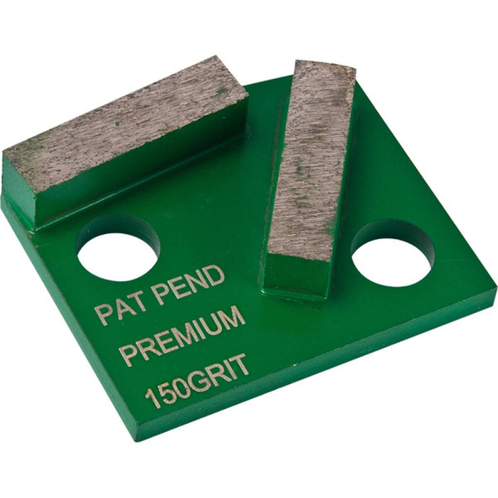 Diamond Productions Polar Premium 2 Segment (Polar Magnetic System) - 40 Grit Medium Bond