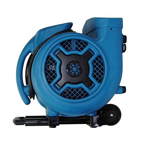 XPower P-830H 1 HP 3 Speeds Air Mover with Telescopic Handle & Wheels (PP)