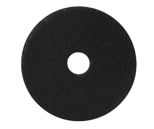 "Americo 19"" HP500 Heavy Duty Black Stripping Floor Pads (Pack of 5)"