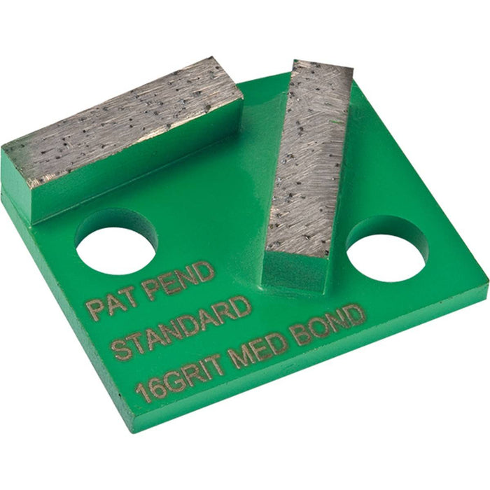 Diamond Productions Polar Standard 2 Segment (Polar Magnetic System) - 25 Grit Medium Bond