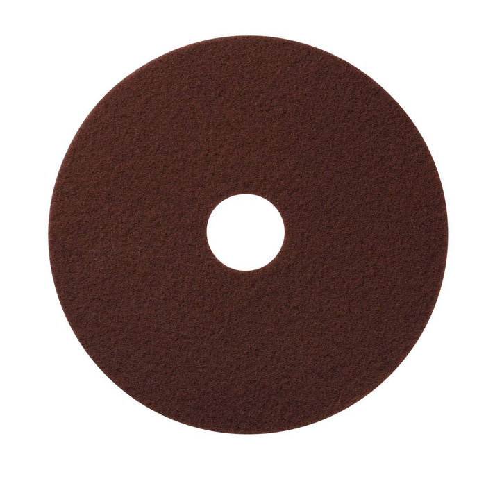 "Americo Maroon EcoPrep Chemical Free Stripping Floor Pads - 13"" (Pack of 10)"