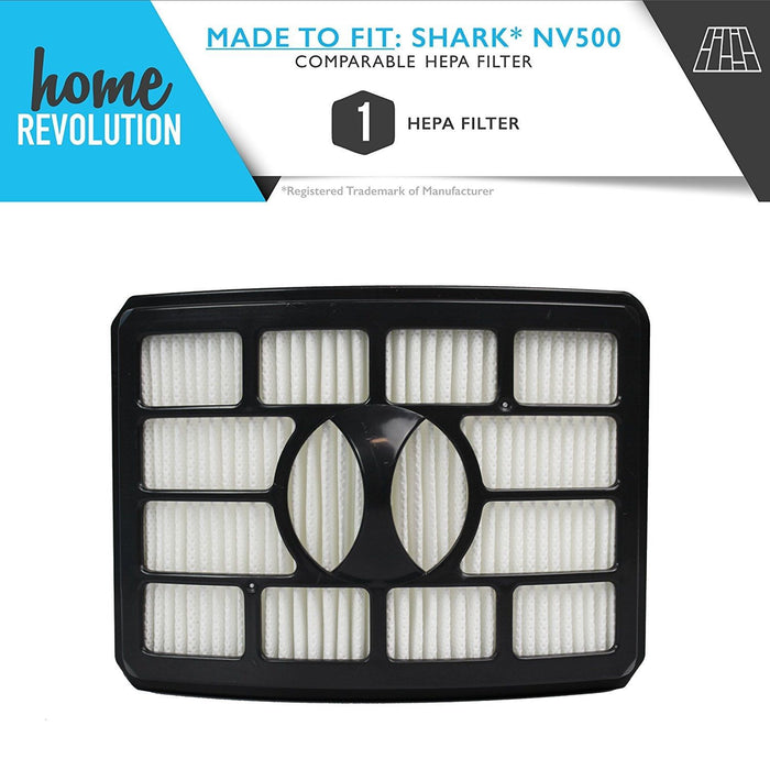 Shark NV500 Part # XHF500 for Shark Rotator Pro Lift-Away Model NV500, Comparable Rotator Pro Lift-Away HEPA Filter. A Home Revolution Brand Quality Aftermarket Replacement