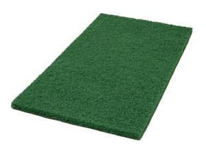 Americo Green Rectangular Scrubbing Floor Pads