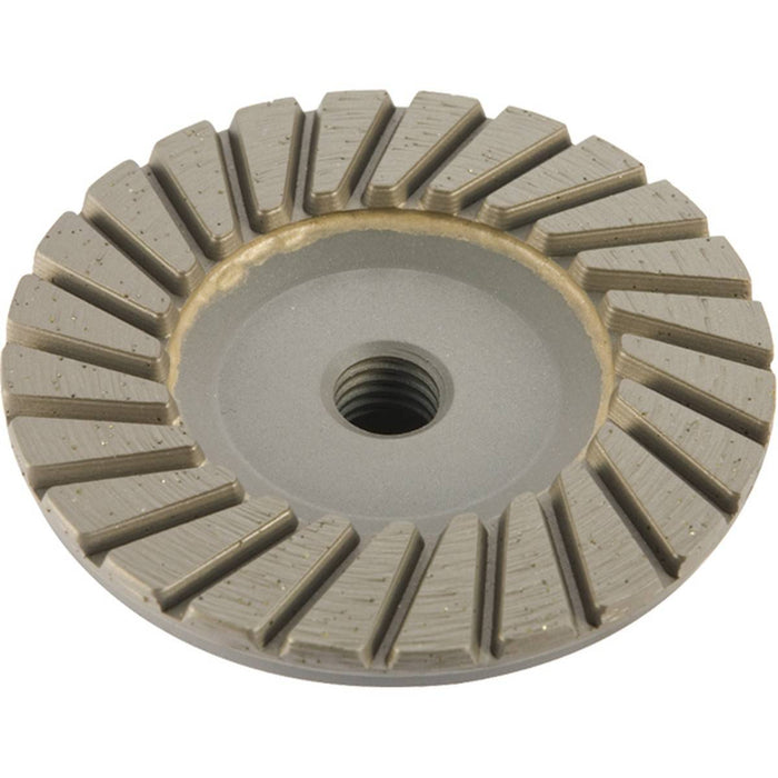 "Diamond Productions Spiral Cupwheel 4"" - Fine"