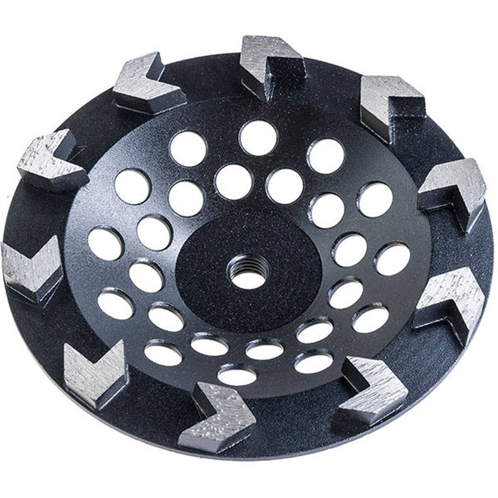 Diamond Productions Arrow Cupwheel 10 Segments - 5/8-7/8