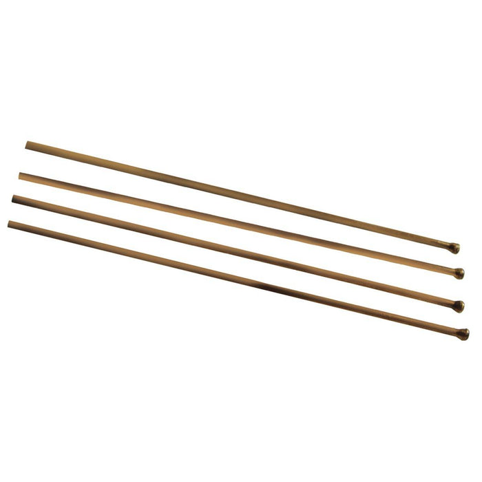 "Novatek Flat Tip Beryllium Copper Needle - 3mm x 7"" (500 pcs)"