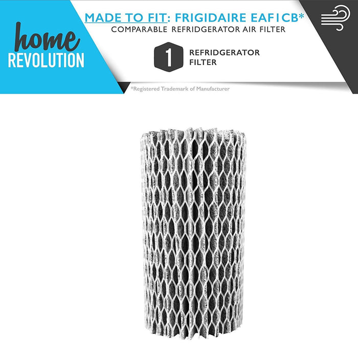Frigidaire Part # EAF1CB Pure Air for Frigidaire and Electrolux Pure Advantage Refrigerators, Comparable Refrigerator Air Filter. A Home Revolution Brand Quality Aftermarket Replacement.