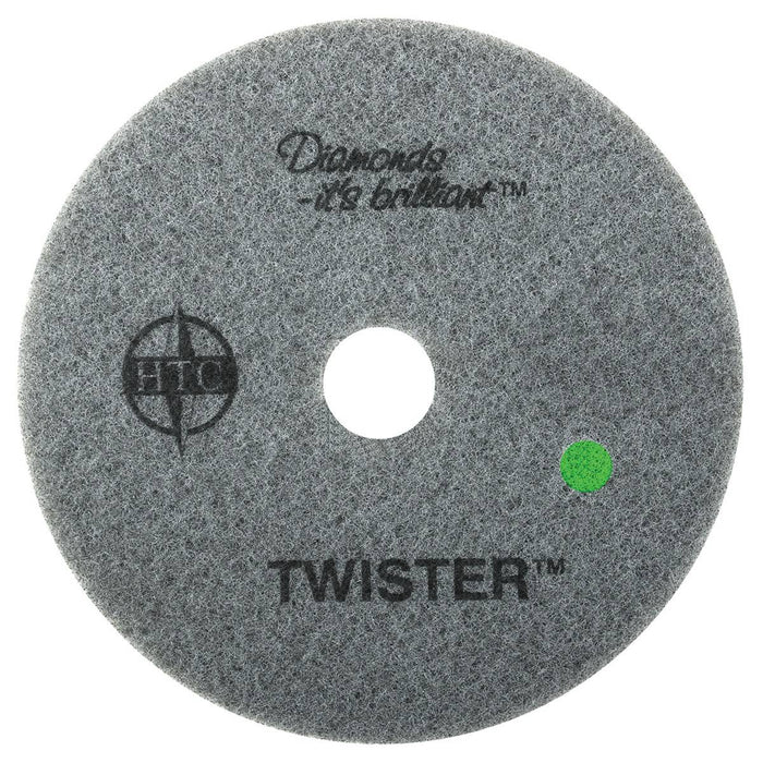 "Americo Twister Green Floor Pads  - 17"" (Pack of 2)"