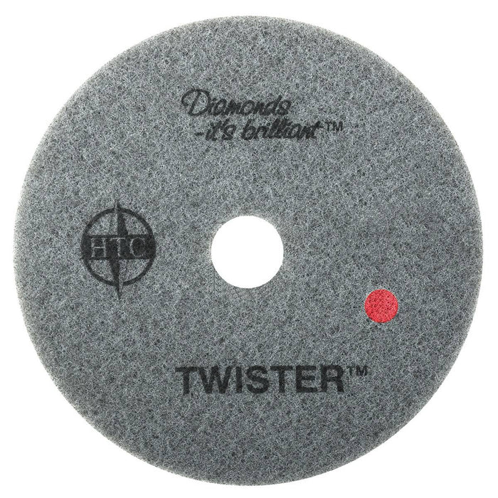 "Americo Twister Red Floor Pads  - 17"" (Pack of 2)"