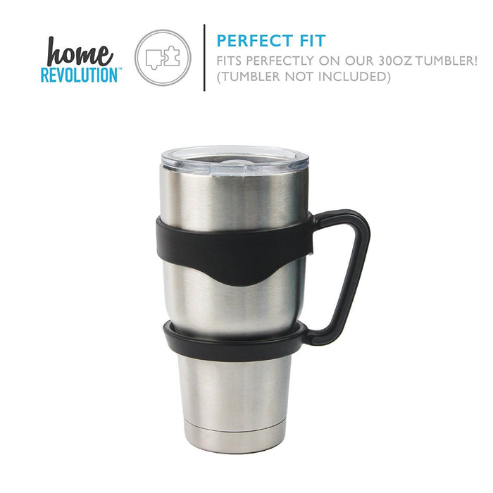 HomeBev Removable Handle for 30 oz Stainless Steel Tumbler. A Home Revolution Brand.