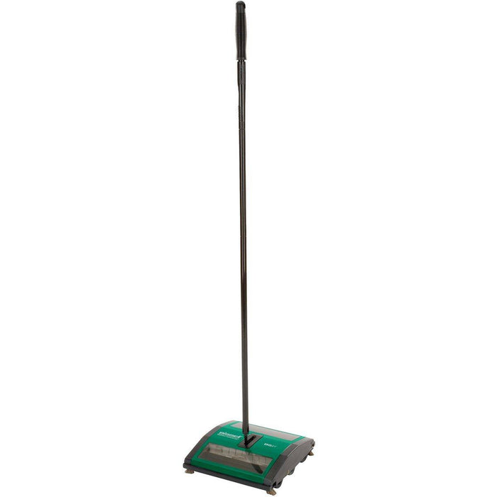 Bissell Manual Sweeper, Dual Rubber Brushes for Wet Messes