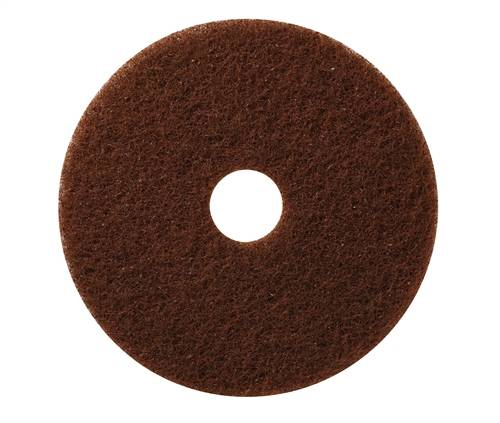 "Americo 23"" Brown Stripping Floor Pads (Pack of 5)"