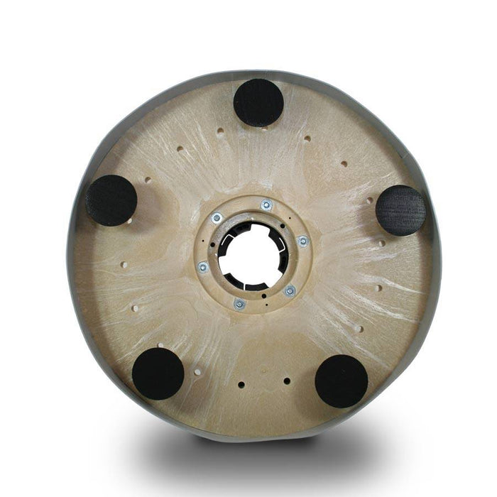 "20"" Showerfeed Diamond Disc Driver with Splash Guard."