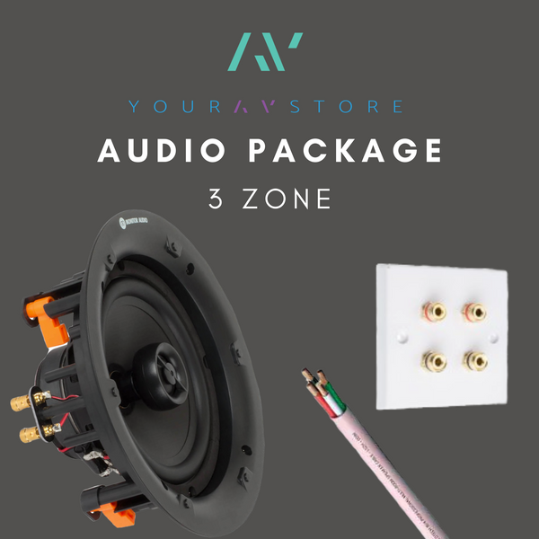 3 Zone Audio System