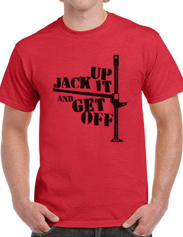 Mens Jack It Up And Get Off T-Shirt