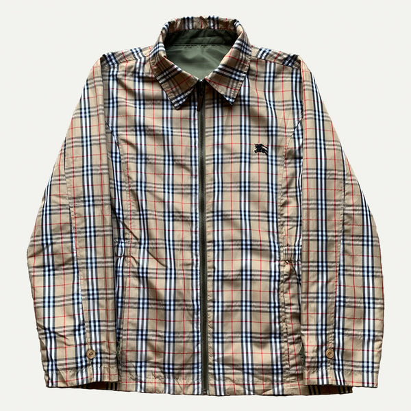 Vintage Burberry Nova Check Reversible Jacket