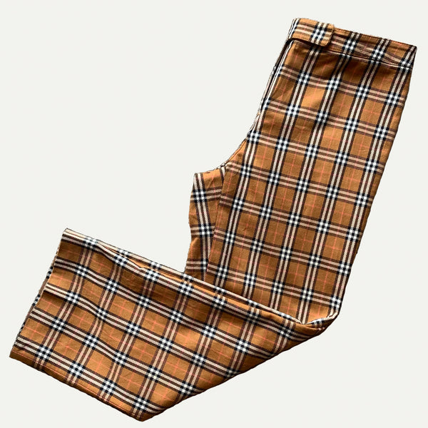Vintage Burberry Nova Check Trousers