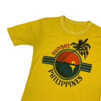 Vintage Sunset Philipines T Shirt