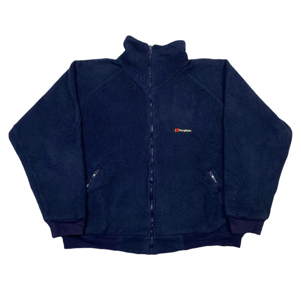 Vintage Berghaus Fleece Bomber Jacket