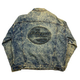 Vintage Dr Pepper Acid Wash Denim Jacket