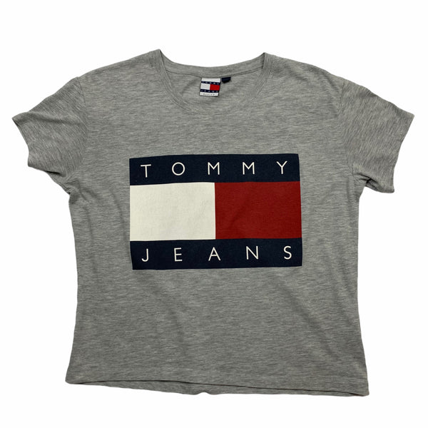 Vintage Tommy Hilfiger Womens Flag T Shirt