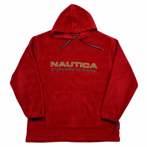 Vintage Nautica Competition Fleece Hoodie