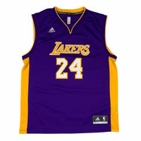 Adidas Los Angeles Lakers Kobe Bryant Jersey