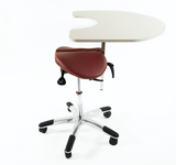 Salli Chin with Elbow Table - (Genuine Leather)