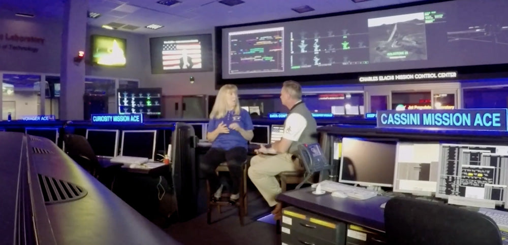 Roadside Astronomers: JPL NASA Control Room Part 3
