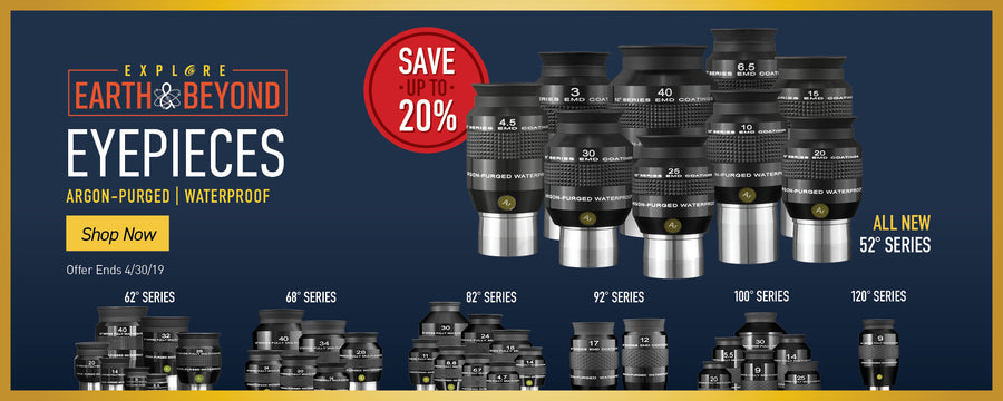 Eyepieces Argon-Purged | Waterproof - Save up to 20% -