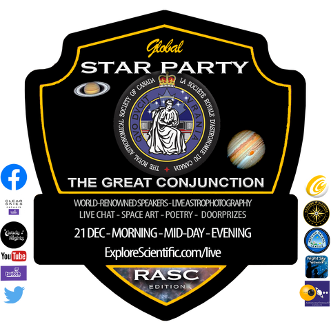 Global Star Party - The Great Conjunction - Co-hosted by the Royal Astronomical Society of Canada
