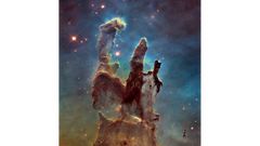 The Pillars of Creation with the Hubble Space Telescope