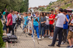 Outreach event with Astronomy Outreach of Kosovo and the Charlie Bates Project