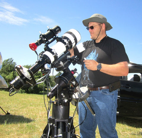 Explore Alliance Ambassador Robert Vice Sets Up his Astrophotography Rig