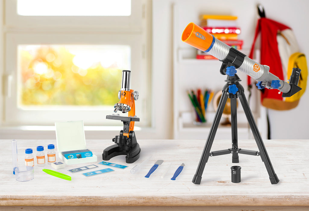 Discovery Telescope and Microscope Combo Set