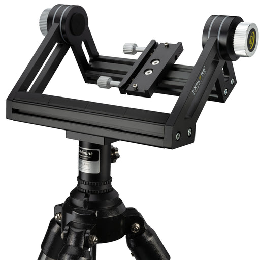 U-mount with tripod for large binoculars