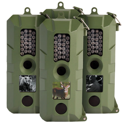 5 Megapixel Trail Camera - 4 Pack