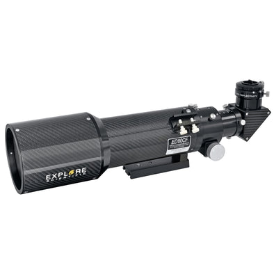 80mm Carbon Fiber Air-Spaced Triplet ED APO Refractor