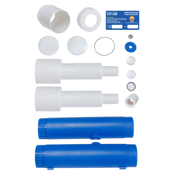 Explore One 50mm Refractor STEM Telescope Kit