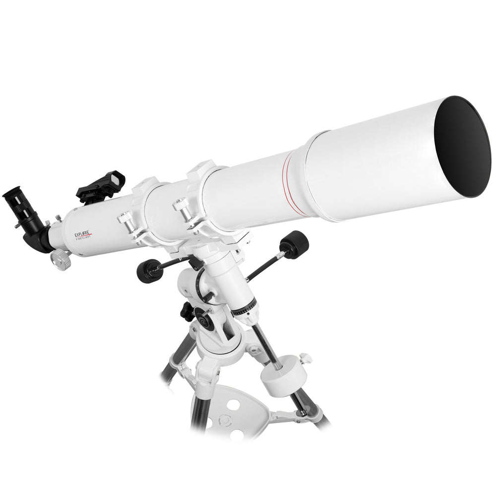 Explore Alliance Rentals: Explore FirstLight 102mm Doublet Refractor Telescope with EXOS EQ Nano Mount
