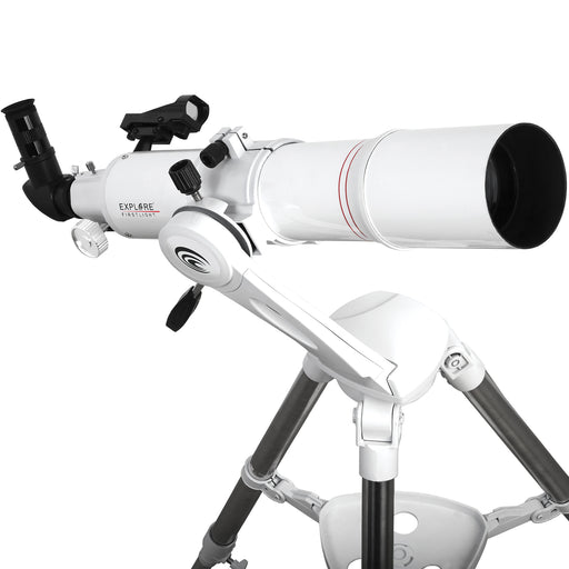 Explore FirstLight 80mm Refractor Telescope with Twilight Nano Mount - FL-AR80640TN