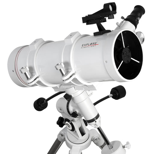 Explore FirstLight 114mm Newtonian Telescope with EQ3 Mount - FL-N114500EQ3
