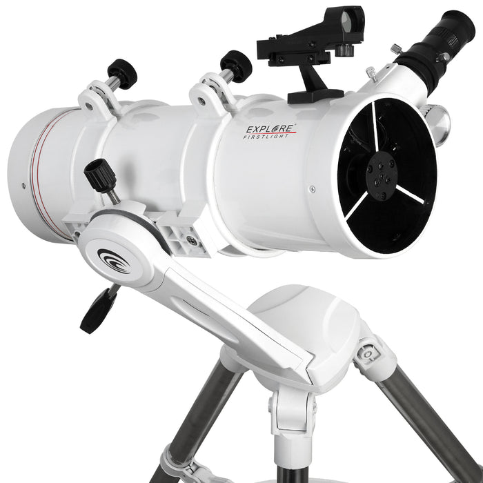 Explore FirstLight 114mm Newtonian Telescope with Twilight Nano Mount - FL-N114500TN
