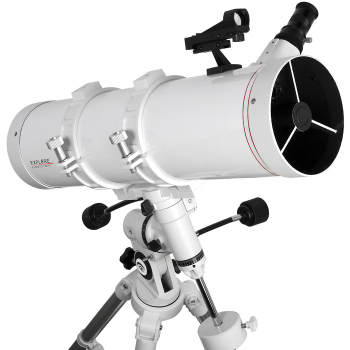 Explore FirstLight 130mm Newtonian Telescope with EQ3 Mount - FL-N130600EQ3